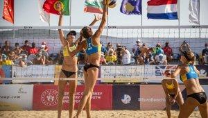U-22 Avrupa Plaj Şampiyonası İzmir'de başlıyor