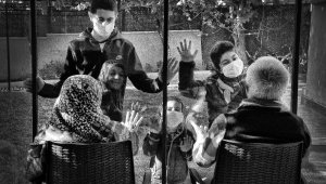 Üniversiteli gençler pandemiyi fotoğrafladı