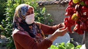 Üretici kadınlar emeklerini kazanca çeviriyor