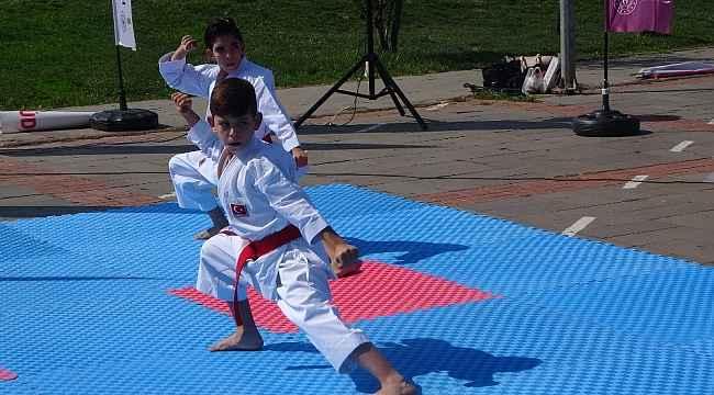 Uşak'ta Avrupa Spor Haftası etkinlikleri