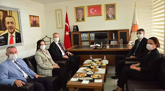 Vali Çelik'ten AK Parti, MHP ve CHP'ye iade-i ziyaret