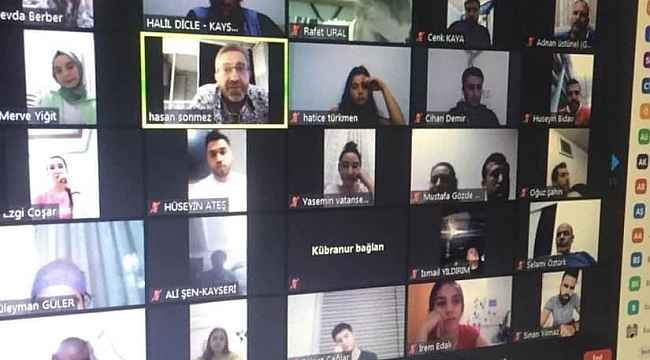 Voleybol İl Temsilciliği Eylül ayı Hakem ve Gözlemci toplantısı yapıldı