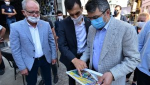 Yılmaz'dan 'Kafeler Sokağı'nda inceleme - Bursa Haberleri