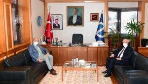 YÖK Yürütme Kurulu Üyesi Prof. Dr. Gündoğan'dan Rektör Erdal'a ziyaret