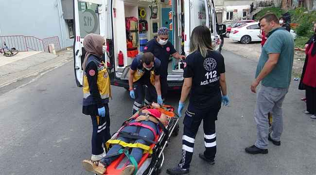 Zonguldak'ta bisiklet kazası: 3 yaralı