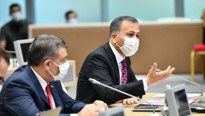 11'inci İl Filyasyon Çalışmaları Takip Kurulu Toplantısı Sağlık Bakanı Fahrettin Koca başkanlığında gerçekleşiyor