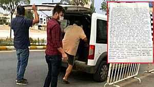 13 yaşındaki kıza aşk mektubu yazan 61 yaşındaki sapık tutuklandı