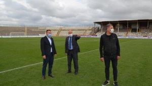 17 Eylül Stadı 3 milyon TL'ye yenileniyor