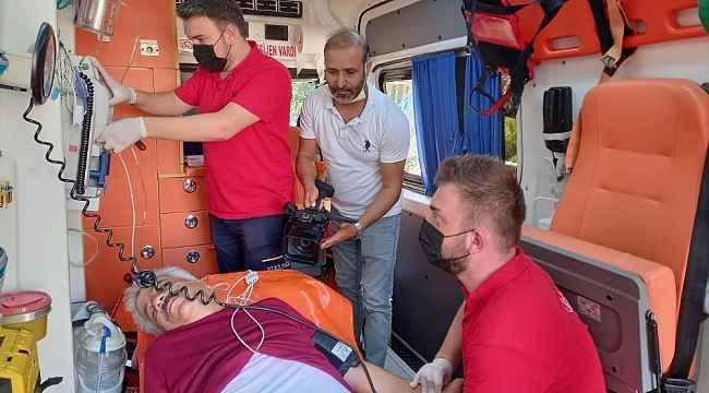 'Hayatın önüne park etme, ambulansı bekletme'