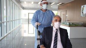 60 yaşındaki CHP'li vekil Covid-19'u yendi