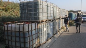 Adana'da 20 ton kaçak akaryakıt ele geçirildi