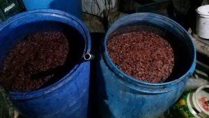Adana'da bin 55 litre sahte içki ele geçirildi
