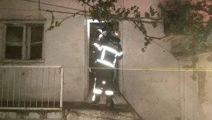 Adıyaman'da ev yangını