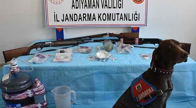 Adıyaman'da uyuşturucu operasyonu: 15 gözaltı