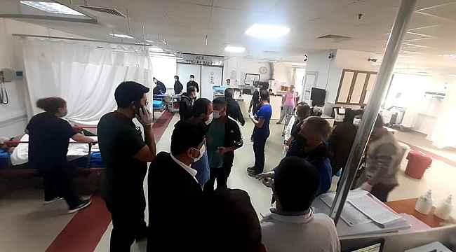 ADÜ Rektörü Aldemir, kaza geçiren doktorları hastanede ziyaret etti