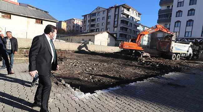 Ağrı Belediyesi mahalle konağı çalışmalarına başladı