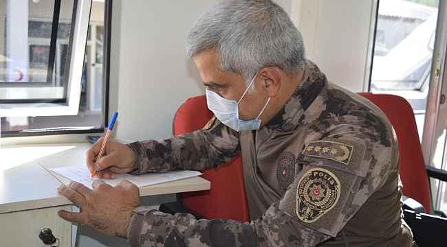 Ağrı Emniyet Müdürlüğü'nden Kızılay'a kan bağışı