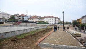 Akhisar'da Naim Süleymanoğlu Parkı yükseliyor - Bursa Haberleri
