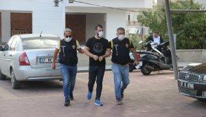 Alanya'da silahlı yaralama olayının şüphelisi uyuşturucu baskınında yakalandı
