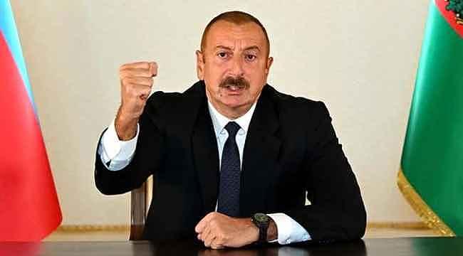 Aliyev, Ermenistan'a karşı verdikleri mücadeleyi