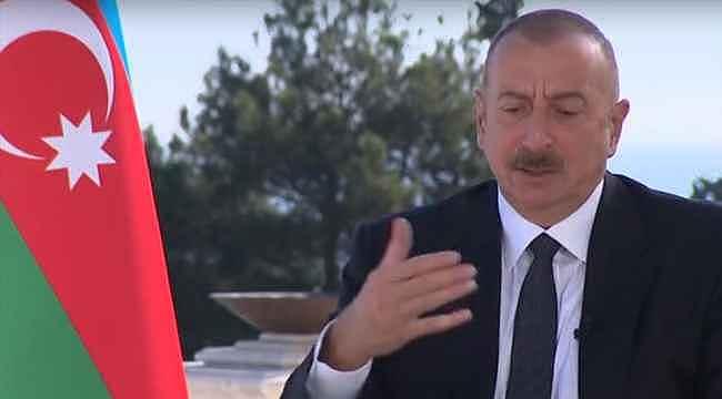 Aliyev ilk kez açıkladı: