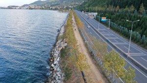 altınkemer ulaşlı arası sahil düzenlemesine başlandı