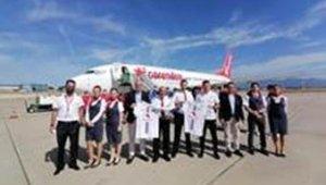 Altınordu'dan Adana'ya özel uçuş