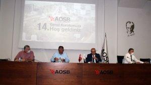 AOSB 14. Olağan Genel Kurulu yapıldı