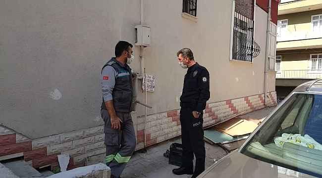 Apartman girişindeki doğalgaz vanası kırıldı: 1 zehirlenme