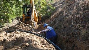 ASKİ, Köşk'teki altyapı yatırımlarına devam ediyor