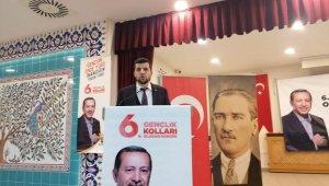 Aslanapa AK Parti Gençlik Kolları, Mehmet Gökmen'le 'devam' dedi