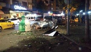 Ataşehir'deki patlamaya ilişkin ekiplerin incelemesi sürüyor