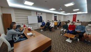 Atletler Erciyes'te form tutuyor
