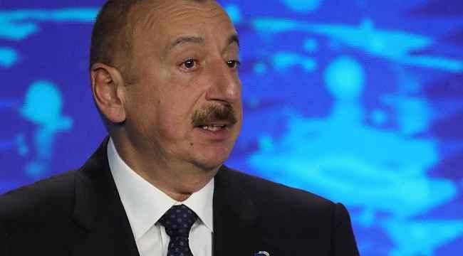 """Azerbaycan Cumhurbaşkanı Aliyev: """"21 köy ve 1 kasaba işgalden kurtarıldı"""""""