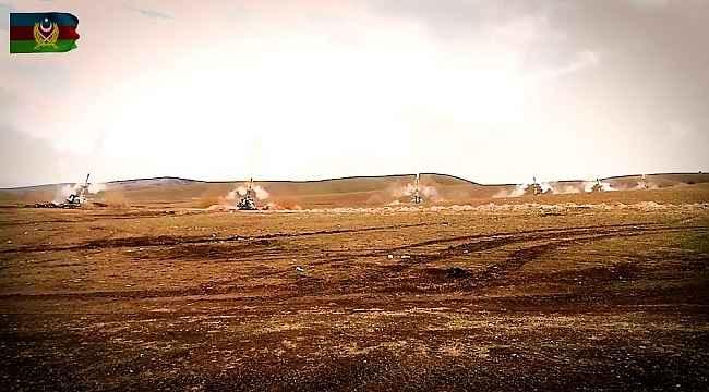 Azerbaycan, Ermenistan'a ait hedefleri vurmaya devam ediyor