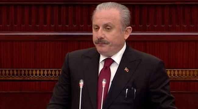 Azerbaycan Meclisi'nde konuşan Şentop: