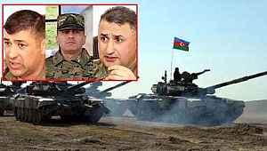 Azerbaycan ordusu cepheyi Ermenistan'a dar ediyor... Üç general dikkat çekti