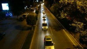 Azerbaycan'a destek konvoyu düzenlendi