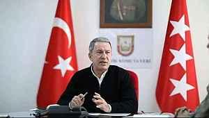 Bakan Akar'dan Yunanistan açıklaması,