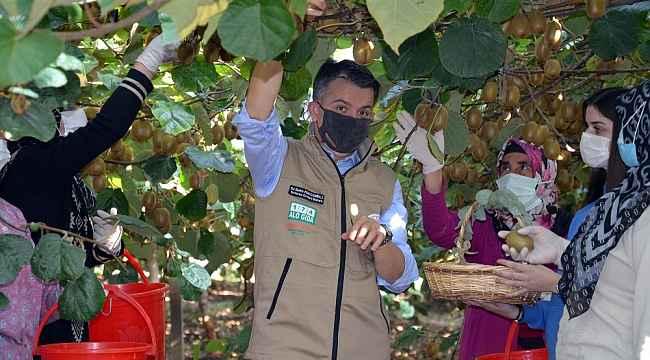 """Bakan Pakdemirli: """"Kivi üretimi 74 bin tona ulaştı"""""""