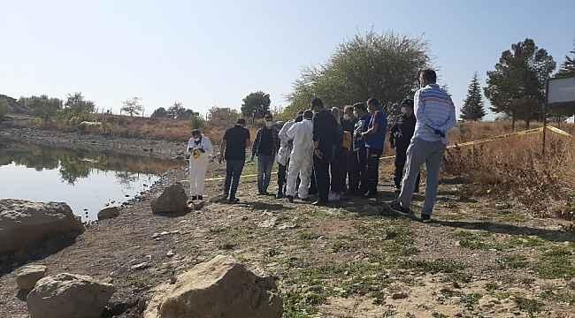 Barajda bulunan ceset bir kadına ait çıktı