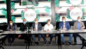 Başkan Aybak basınla bir araya geldi