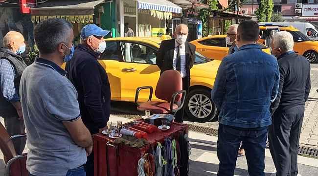 Başkan Bozkurt'tan esnafa ziyaret