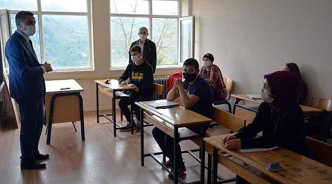 """Başkan Kaya: """"Okullarımızda salgına karşı her türlü tedbir alındı"""""""