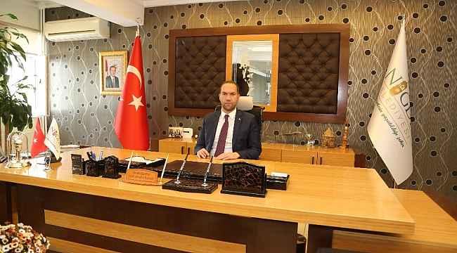 Başkan Özdemir'den Mevlid Kandili Mesajı