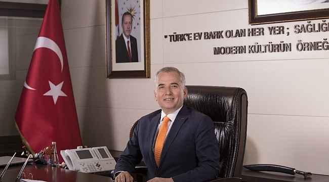 """Başkan Zolan, """"Türk milleti, büyük zaferini cumhuriyeti ilan ederek taçlandırmıştır"""""""