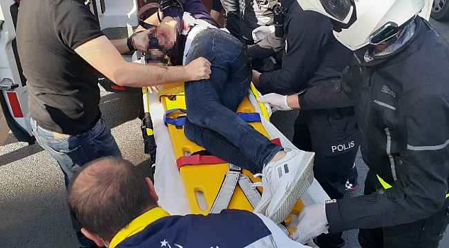 Başkent'te pompalı tüfekli saldırı güvenlik kamerasına yansıdı