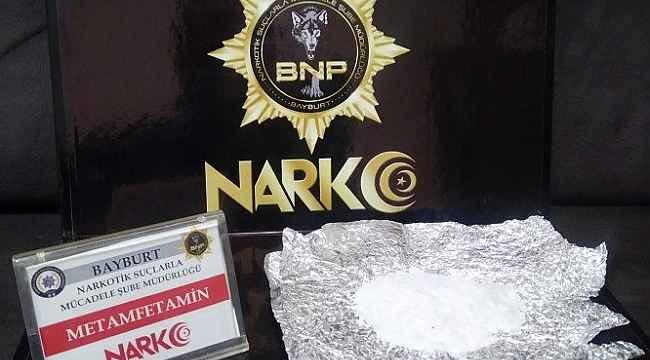 Bayburt'ta uyuşturucu operasyonu: 5 şüpheli yakalandı