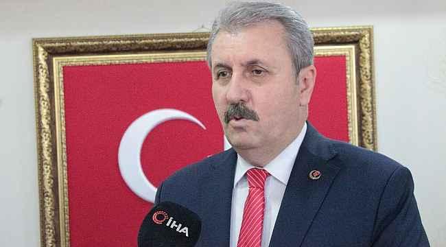 BBP Genel Başkanı Destici, 11'inci Genel Kurul öncesi açıklamalarda bulundu
