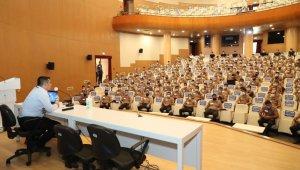 Bekçi adaylarına geliştirme eğitimi